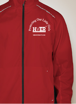 Front of Red Jacket